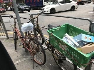 古い自転車の写真・画像素材[2729607]