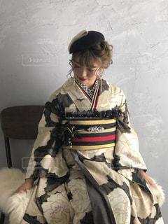 振袖  大正浪漫の写真・画像素材[1907631]
