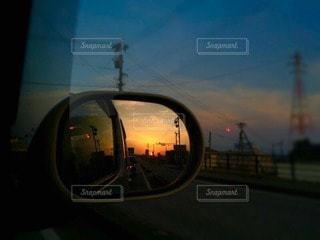 夕日の写真・画像素材[73387]