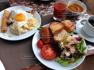 マリーナベイサンズの朝食バイキングの写真・画像素材[2237118]