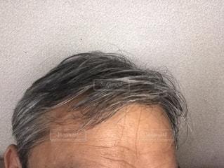 40代男性の頭髪(前)の写真・画像素材[2288392]