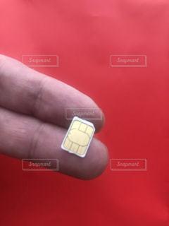 nano USIM カードの写真・画像素材[2289759]