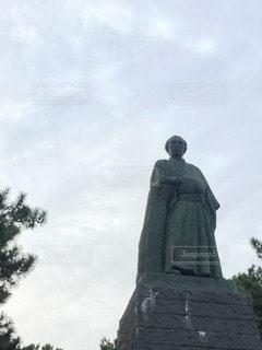 銅像の写真・画像素材[68874]