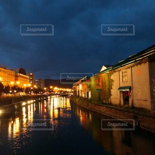 小樽運河の写真・画像素材[2203054]