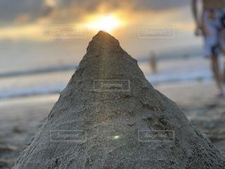 砂浜からこんにちわの写真・画像素材[1888947]