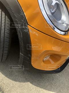 スってしまった車の写真・画像素材[2018825]