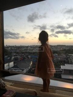 子どものいる風景の写真・画像素材[70725]
