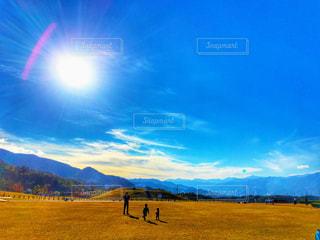 大きい公園の空の写真・画像素材[2685033]