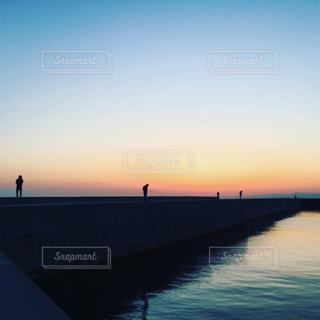 夕景の写真・画像素材[283269]