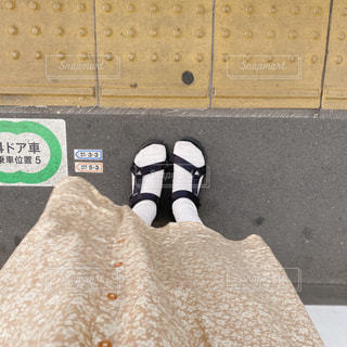 電車待ちの写真・画像素材[3245193]