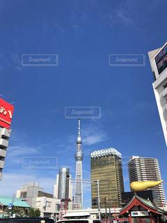 都会の高い建物の写真・画像素材[2317123]