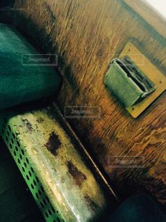 緑の壁のクローズアップの写真・画像素材[2261949]