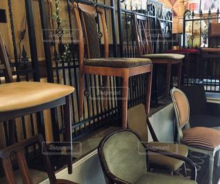 食堂のテーブルの写真・画像素材[2310320]