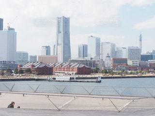横浜、みなとみらいの風景の写真・画像素材[1911453]