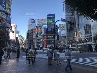 2018年 元旦 渋谷の写真・画像素材[938276]