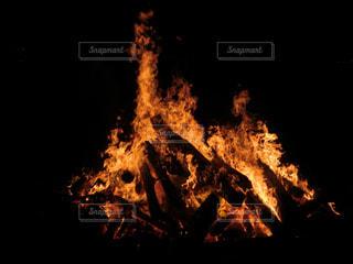 炎のダンスの写真・画像素材[2013105]