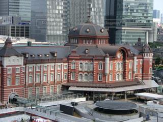 東京駅 駅舎 東口周辺 全景の写真・画像素材[2014117]