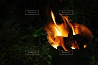 たき火の写真・画像素材[85392]