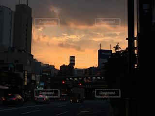夕焼けの写真・画像素材[131269]