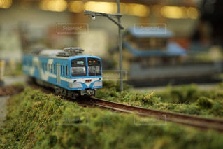 電車模型の写真・画像素材[1109417]