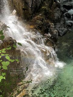 付知峡不動滝②の写真・画像素材[2095434]