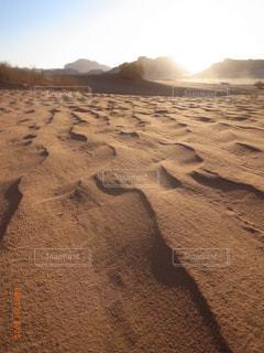 砂と風の自然美の写真・画像素材[3100966]