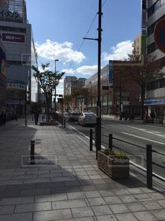 街の通りのビューの写真・画像素材[976005]