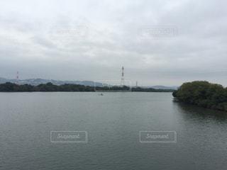 水の大きな体の写真・画像素材[976080]