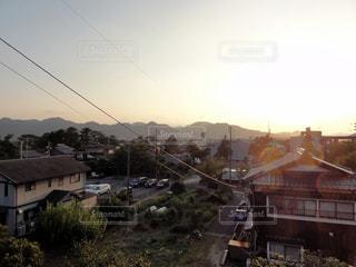 街の通りのビューの写真・画像素材[982370]