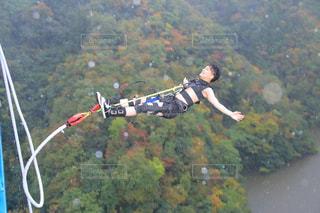 JUMP FOR LOVE! 名所でバンジージャンプ!の写真・画像素材[1902973]