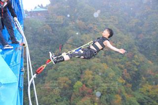 JUMP FOR LOVE! 名所でバンジージャンプ!の写真・画像素材[1902977]
