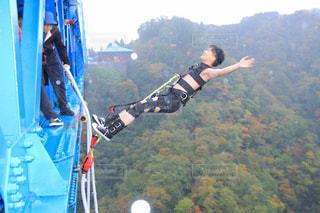 JUMP FOR LOVE! 名所でバンジージャンプ!の写真・画像素材[1902981]