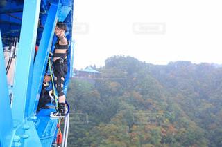JUMP FOR LOVE! 名所でバンジージャンプ!の写真・画像素材[1902991]