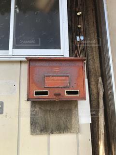古い郵便箱の写真・画像素材[1903353]