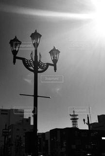 街灯の写真・画像素材[1914928]