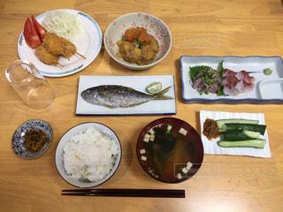 夕飯の写真・画像素材[1953584]