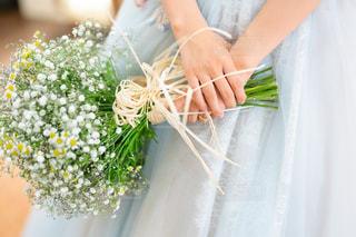 結婚式のブーケの写真・画像素材[1960239]