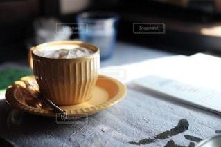 喫茶店にての写真・画像素材[3567561]