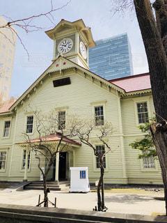 札幌時計台の写真・画像素材[2136904]
