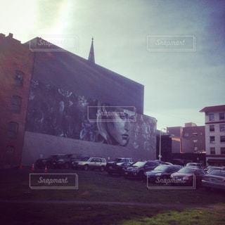 ポートランドの街中のアートの写真・画像素材[1965172]