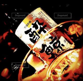 日本酒で乾杯の写真・画像素材[1907896]