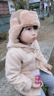 冬の娘の写真・画像素材[1908490]