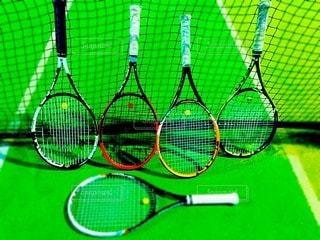 テニスの写真・画像素材[74958]