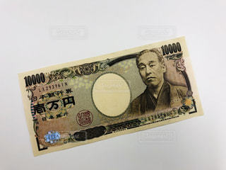 一万円札の写真の写真・画像素材[2064579]