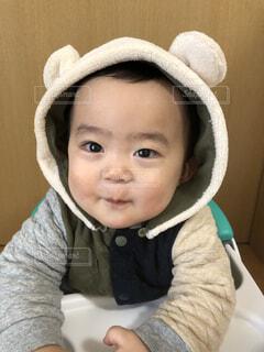 笑顔の赤ちゃんの写真・画像素材[4114934]
