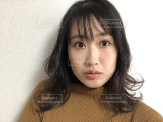 美容室帰りの彼女の写真・画像素材[4173195]