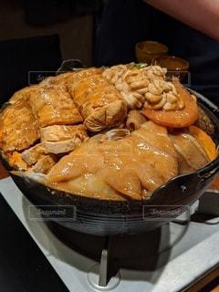 食べ物のクローズアップの写真・画像素材[2903025]