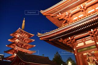 浅草の夜の顔の写真・画像素材[2239448]