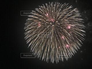 画面いっぱいの花火の写真・画像素材[2030190]