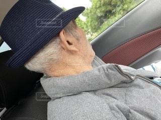 大好きなおじいちゃんの写真・画像素材[2740289]